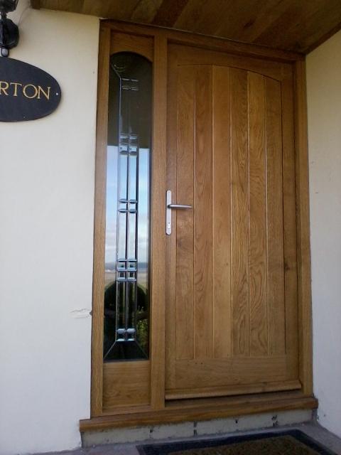 Oak Front Door 2