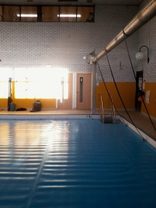 Fire doors swimming pool