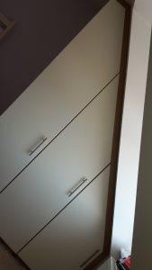 Angled wardrobe 1
