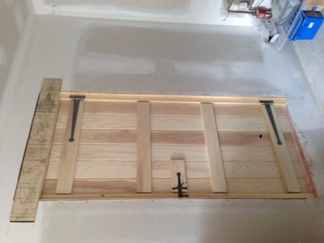 Ash ledge and brace door & Ash ledge and brace door - Bartlett Joinery And Carpentry
