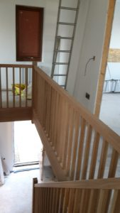 Oak staircase 2
