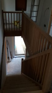 Oak staircase 3