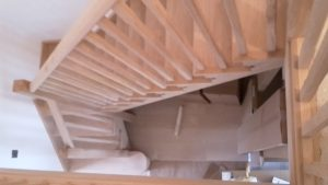 Oak stairs 1