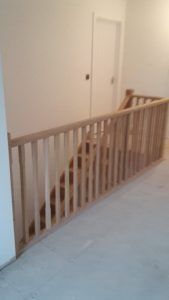 Oak stairs 2