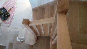 Oak stairs 5