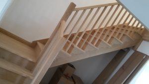 Oak stairs 8