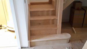 Oak stairs 9